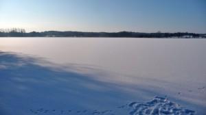 Idstedter See im tiefen Winter