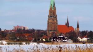 Blick über die Schlei zum St. Petri Dom