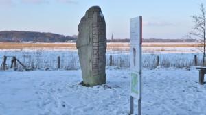 Runenstein vor der Noorbrücke (Sigtrygg - Stone)