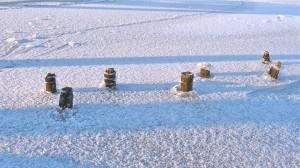 Winterfotomotive nach der Noorbrücke