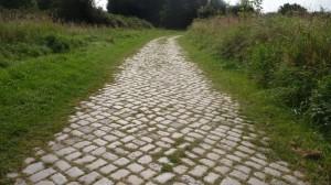 Wanderweg gut ausgebaut