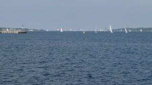 Kieler Bucht mit Booten