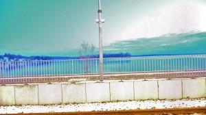 Bahnhof Plön, direkt am See (15s belichtet)
